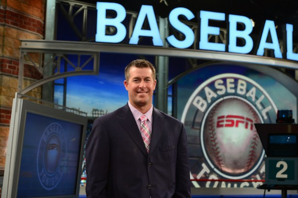 Mark Mulder on the Baseball Tonight set.(Joe Faraoni/ESPN Images)