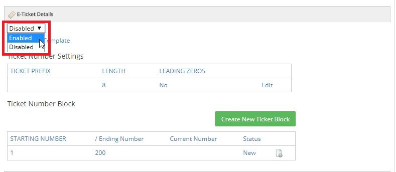 Purchase Items Template - Purchase Items, Attributes and e-Tickets - e ticket template