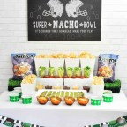 Football Party Snack Ideas Super Bowl Nacho Bar with Tostitos Food Ideas