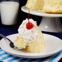 Hawaiian Fluff Cake Topping