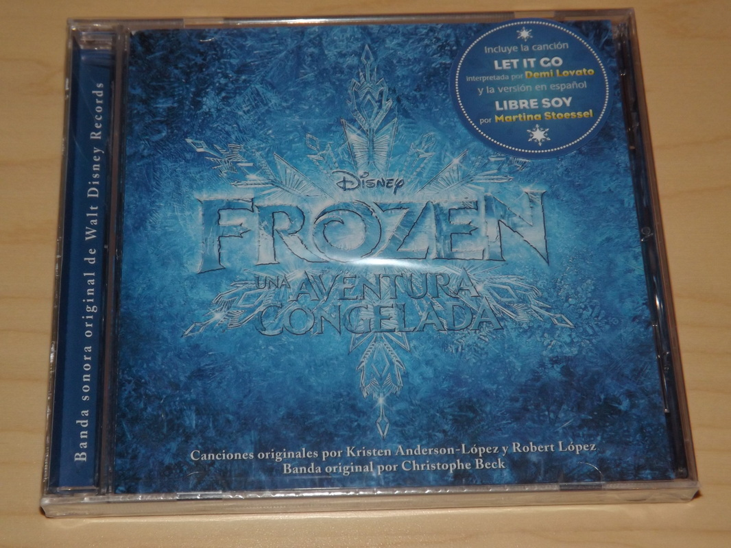 Frozen Cancion Español Libre Soy Soundtrack Cds Disney S Frozen Dub Collection