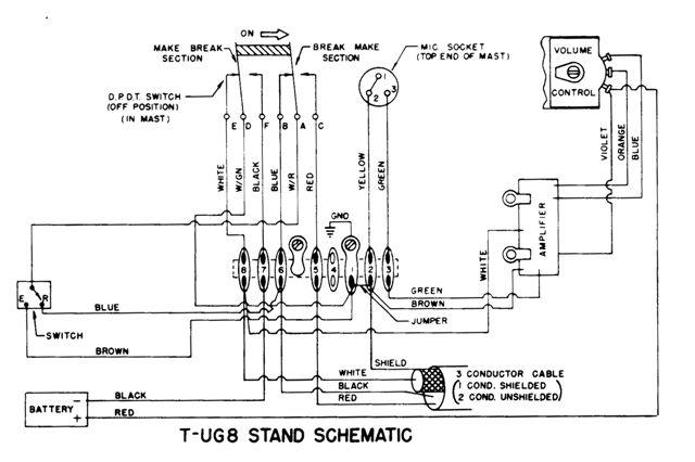 D 104 Cb Mic Wiring Diagram Wiring Schematic Diagram
