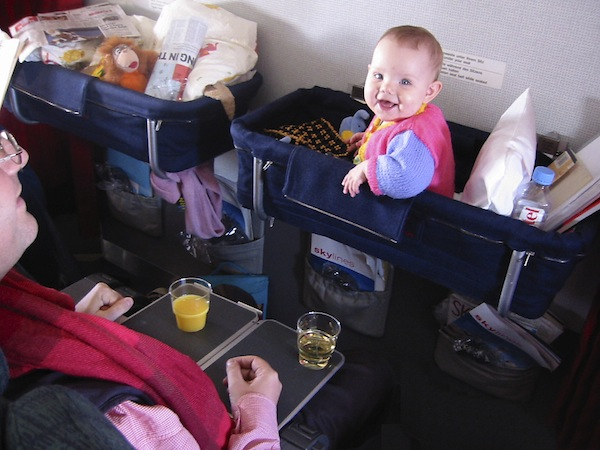 Baby Bassinet On Plane 11 Tips For Surviving Air Travel With Kids