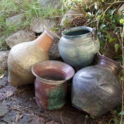 Cracked pots for Craigslist.