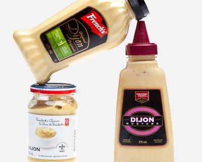 Dijon style mustards