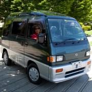 Subaru micro van