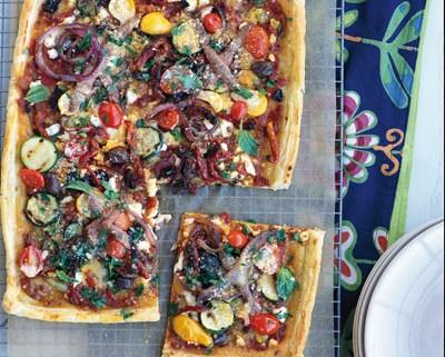 Puff: Provencal Pizza - Ngoc Minh Ngo