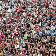 Crowd Scene - 123RF