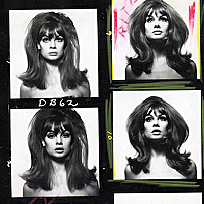 Jean Shrimpton Big Hair - David Bailey