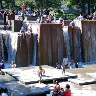 Forecourt Fountain - Portland, Oregon