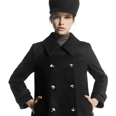 JOE FRESH PEA COAT FALL 2012