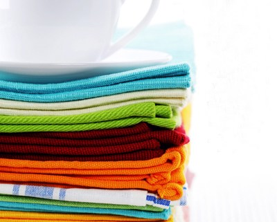 Stack Of Cloth Napkins shutte