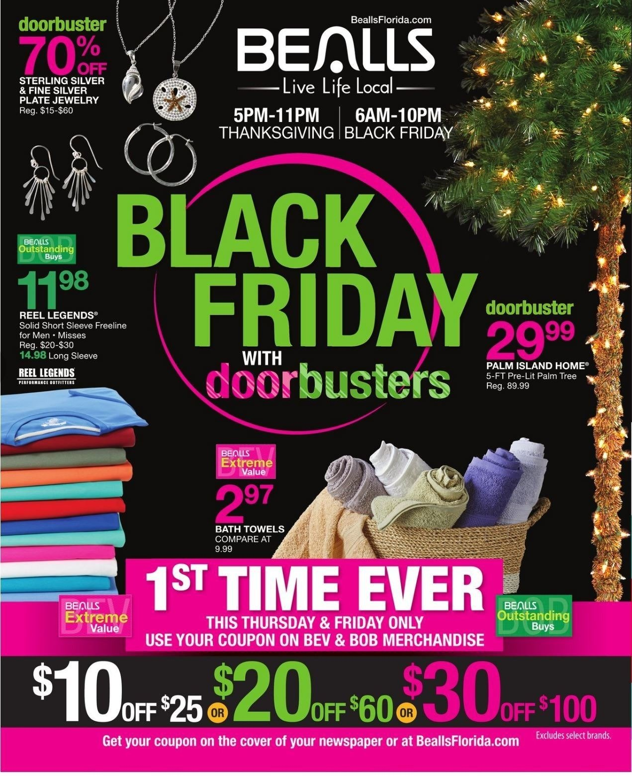Bealls Department Stores 2018 Black Friday Ad