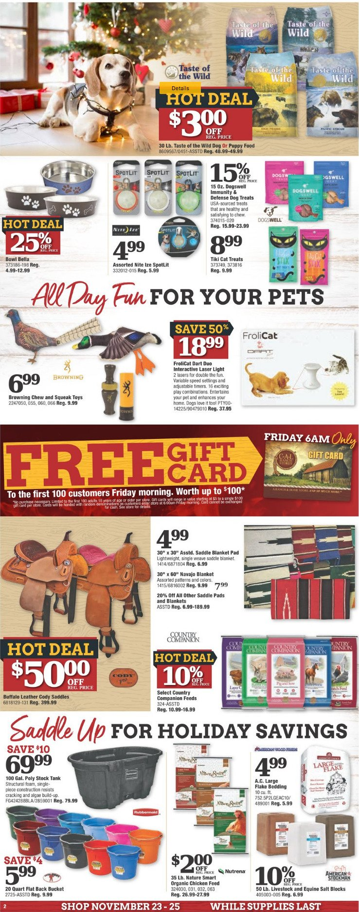 Cal Ranch Stores 2018 Black Friday Ad Frugal Buzz