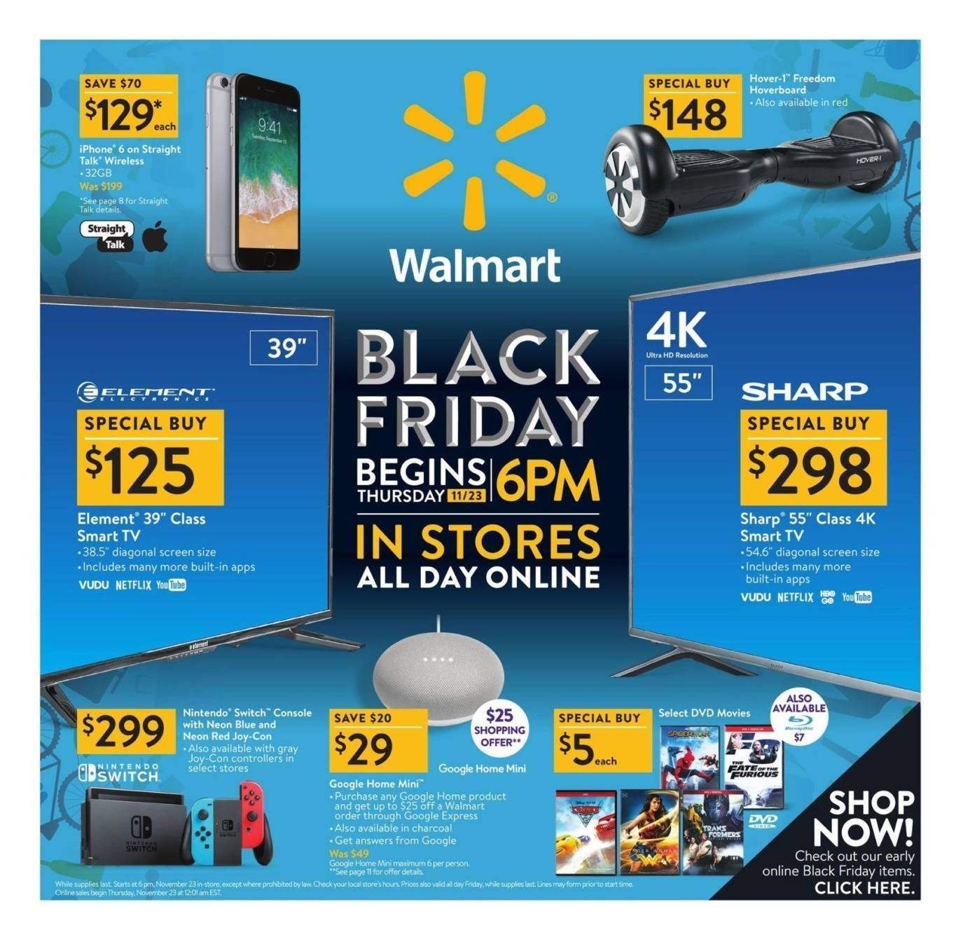Back Friday Walmart 2017 Black Friday Ad