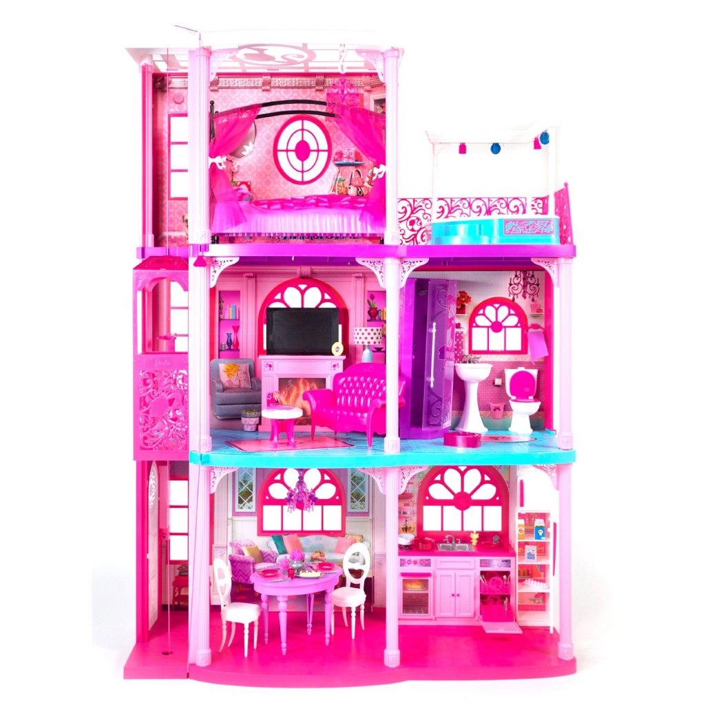 Barbie House Design Barbie Dream House 125 99 From 184 99