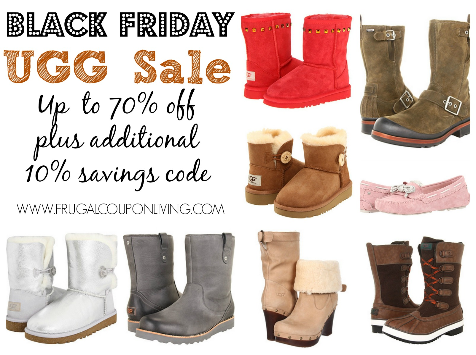 Black Friday Wo Black Friday Ugg Sale Up To 70 Off Plus 10 Coupon Code