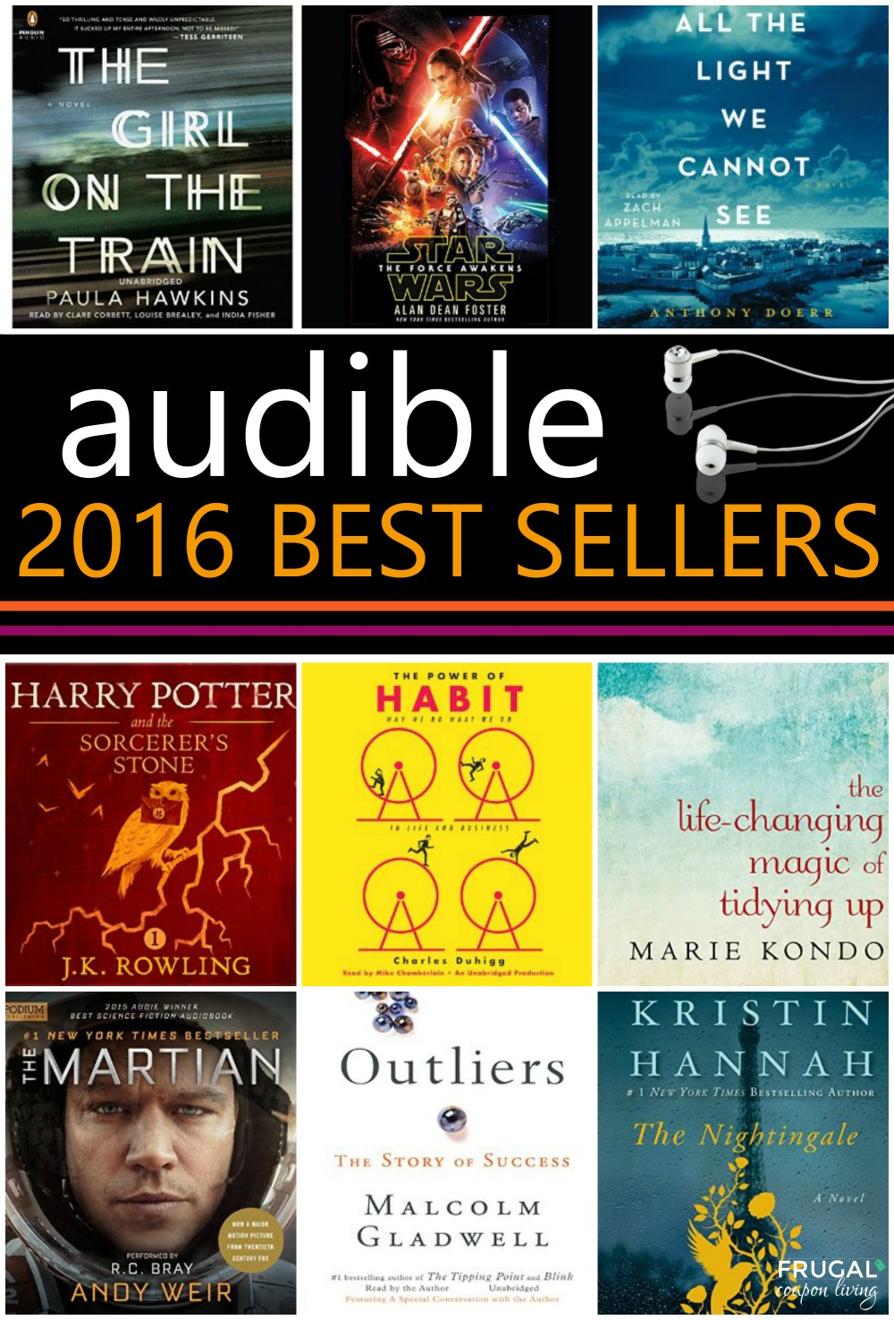 Libros Best Seller 2016 Audible Best Sellers For February