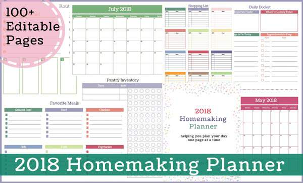 Free Printable Calendar Pages for May, They are Editable Too!