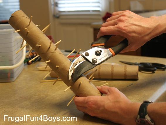 Diy Rainstick Toy For Sensory Play