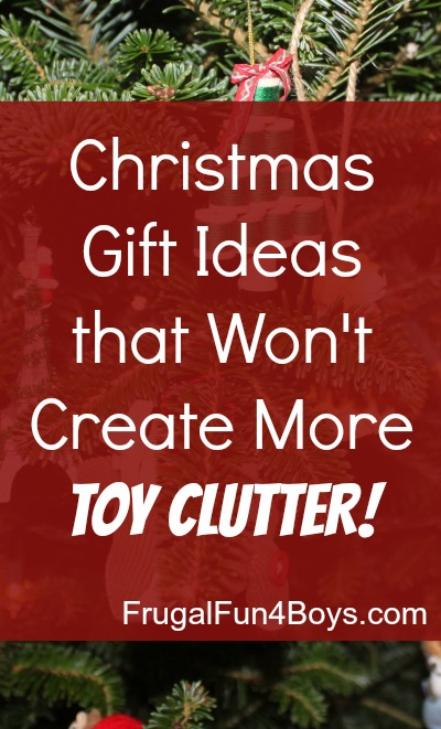 Christmas Gift Ideas for a Clutter-Free Christmas \u2013 Frugal Fun For