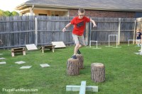 DIY American Ninja Warrior Backyard Obstacle Course ...