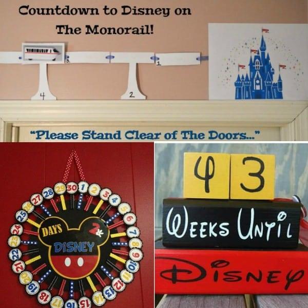 11 Fun Countdown to Disney Ideas