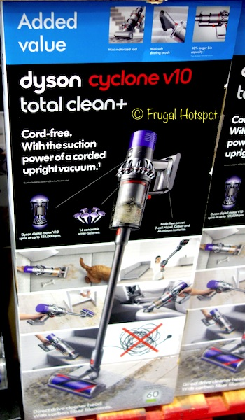 Couch Cord Costco Sale: Dyson Cyclone V10 Total Clean+ Cord Free
