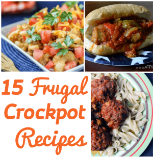 15 Frugal Crockpot Recipes