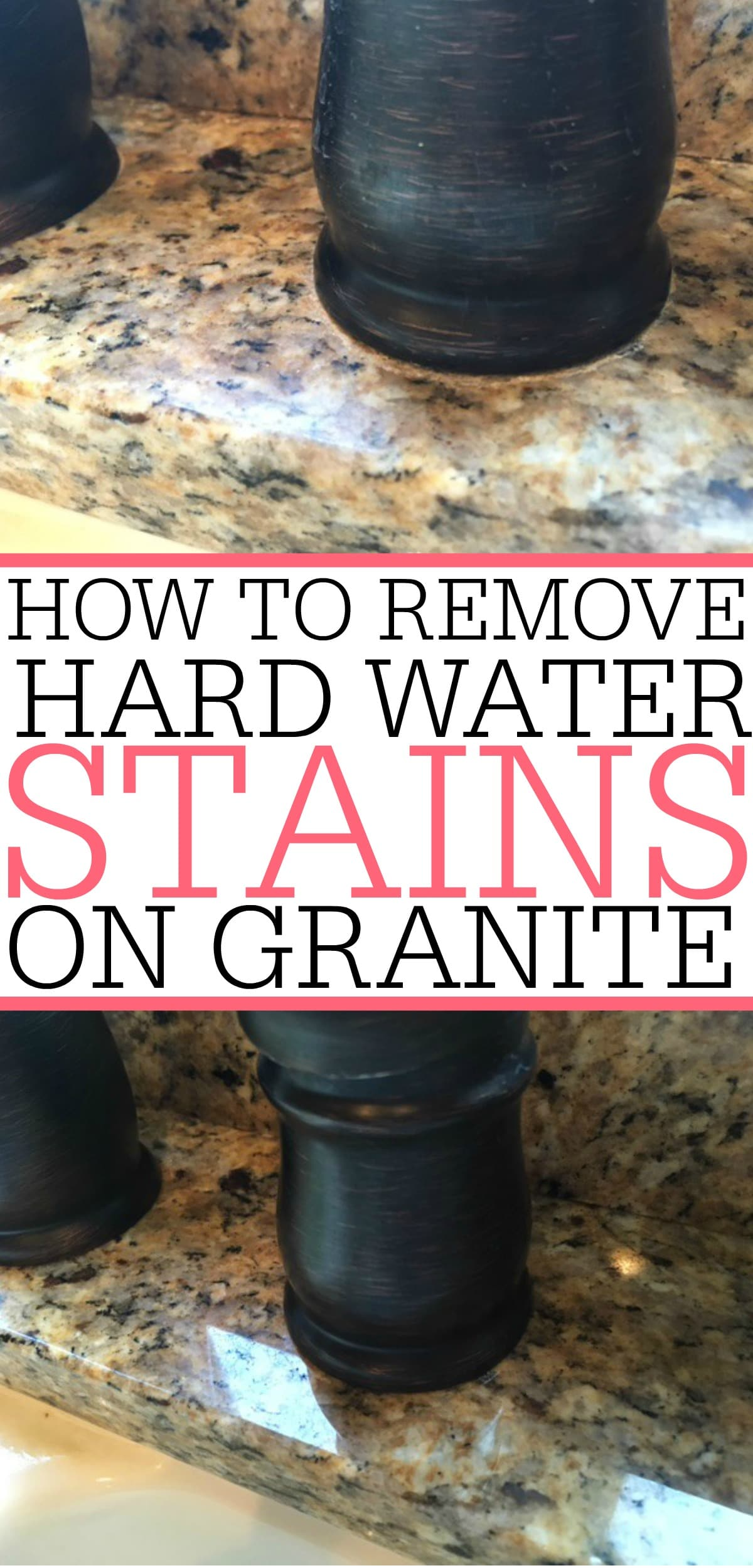 Natural Way To Clean Granite Countertops How To Get Hard Water Stains Off Granite Mycoffeepot Org