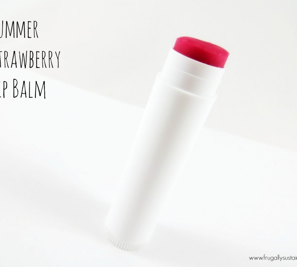 Diy Lip Balm Flavors Diy Summer Strawberry Blast Lip Balm And A Giveaway For You