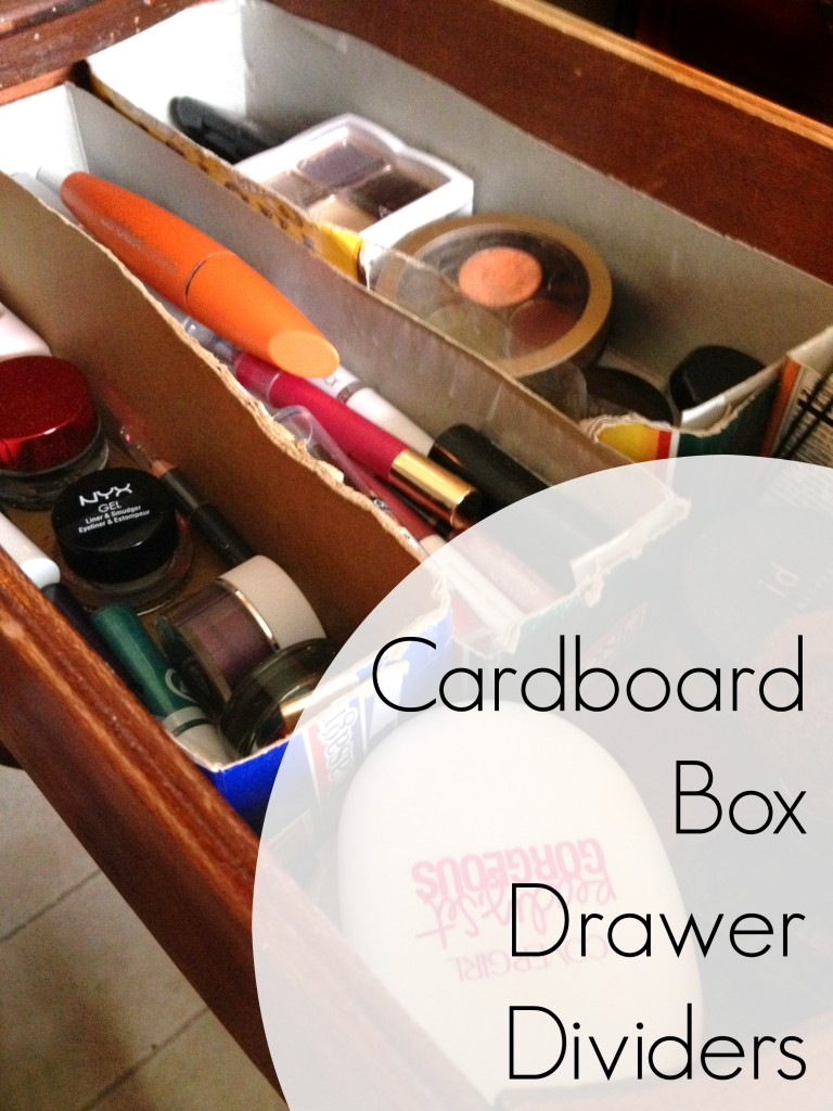 Cardboard Box Dividers Cardboard Box Drawer Dividers Make Do And Mend Frugal Upstate