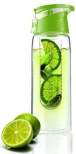 Asobu Tritan Flavor it Water Bottle, Lime