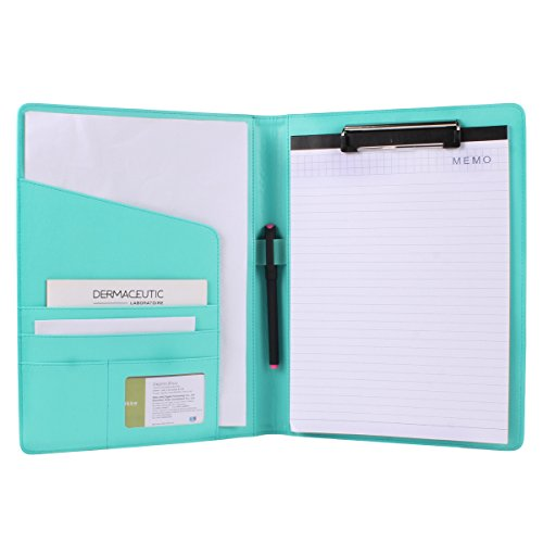 Geila PU Leather Resume Storage Clipboard Folder Portfolio Padfolio