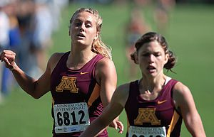 Women's Cross Country Team runs the OZ invitat...