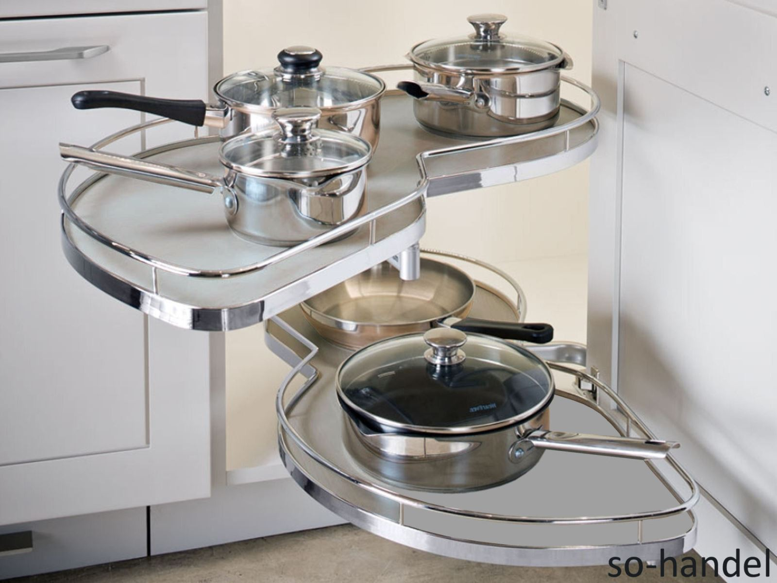 Küche Ecklösung Magic Corner   Status Offen Offene Küche Im Neubau ...