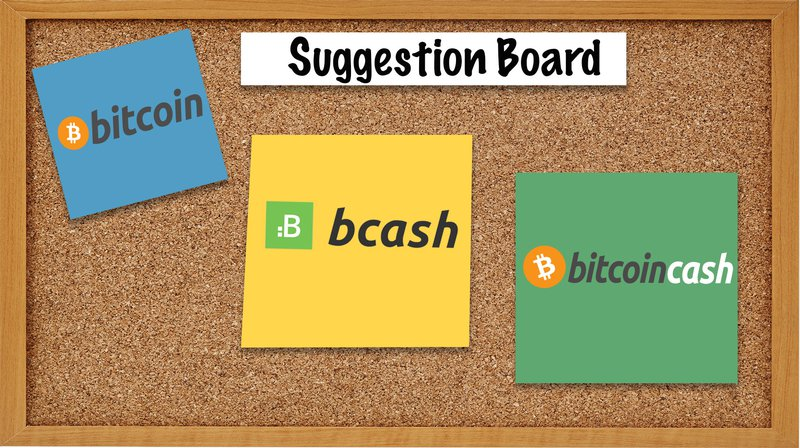 Bitcoin Cash or BCash: What's in a Name?