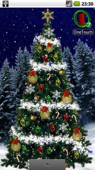 Christmas Tree Live Wallpaper - 'Tis the Season to Be Tacky | AndroidPIT