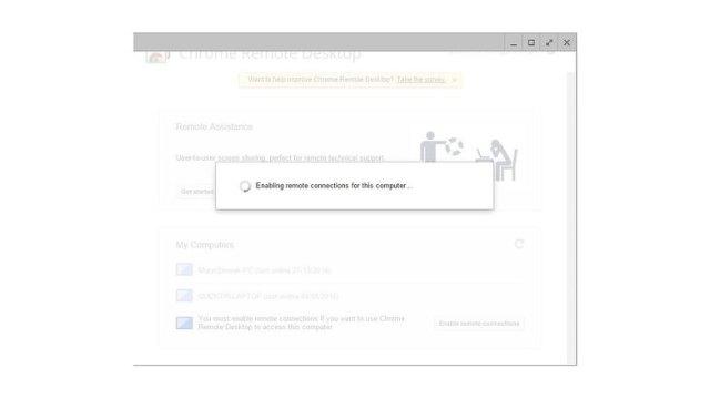 google remote desktop 3