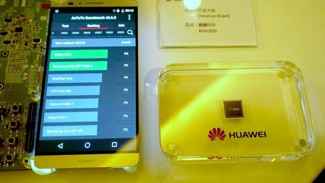 AndroidPIT Huawei Kirin 950 AnTuTu benchmark