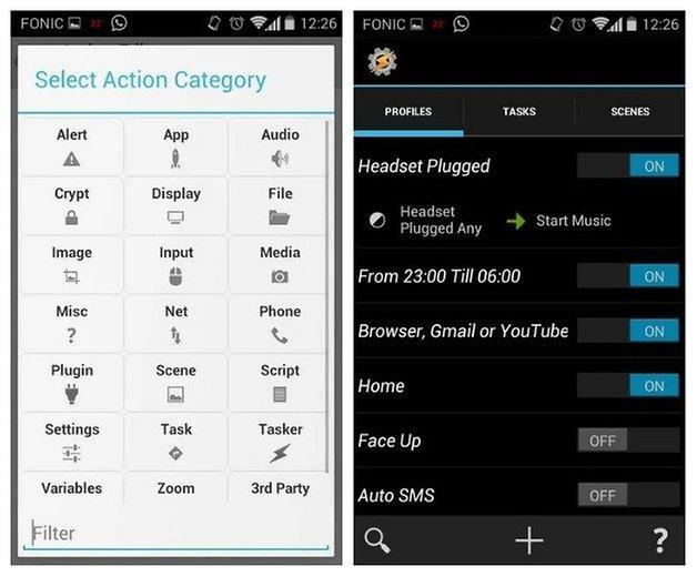 AndroidPIT Moto X Tasker