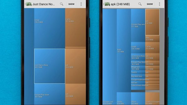 AndroidPIT disk usage 1