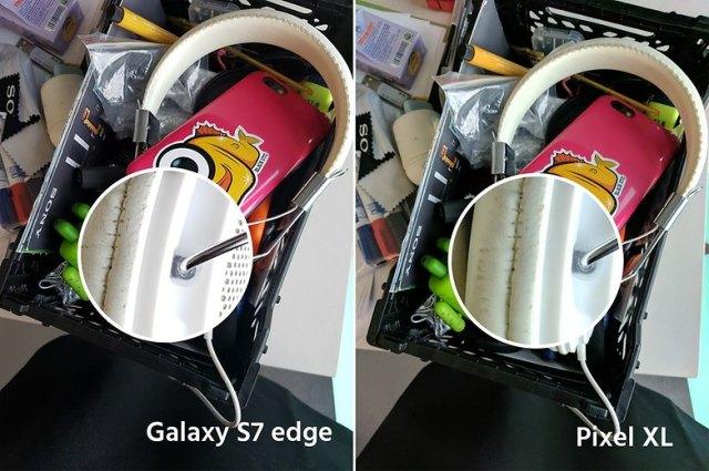 AndroidPIt google pixel XL vs samsung galaxy s7 edge 6