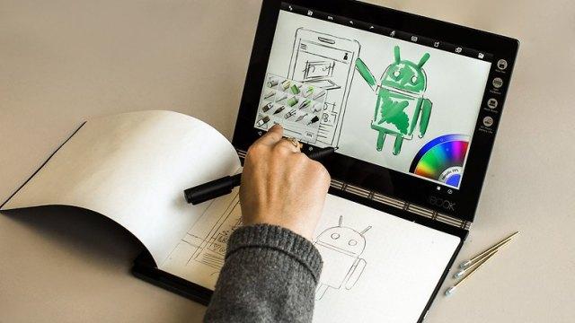 AndroidPIT Lenovo Yoga Book 0150