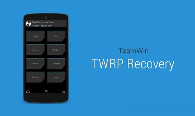 meilleurs recovery custom android twrp team win recovery project image 0900