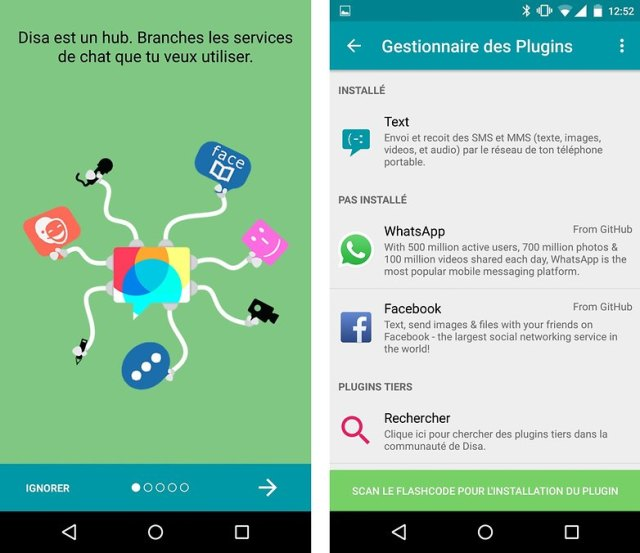 disa app android french