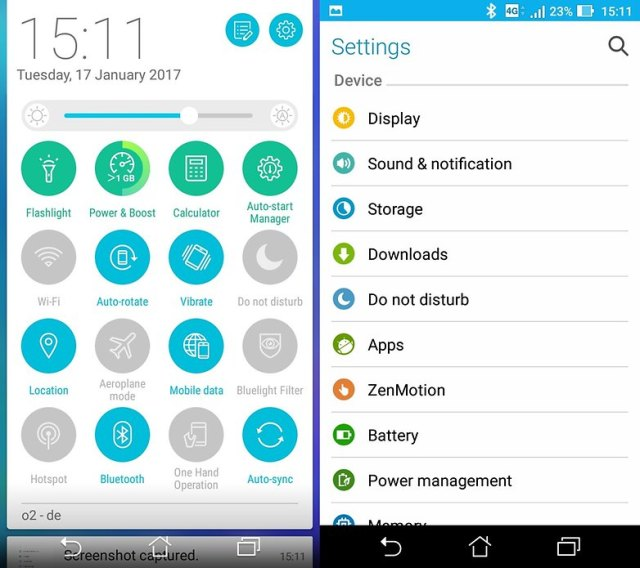androidpit asus zenfone 3 max interface1