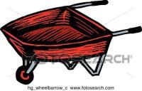 Clipart - carriola hg_wheelbarrow_c - Cerca Clipart ...