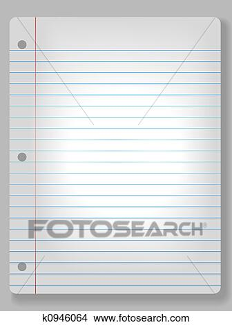Drawings of Spotlight Notebook Paper Background k0946064 - Search