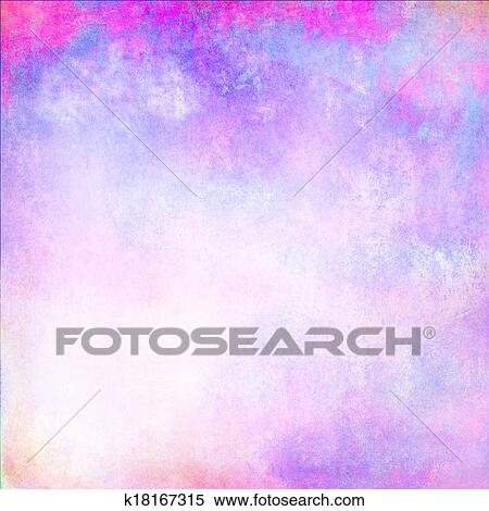 Stock Illustration of Pastel purple texture background with empty
